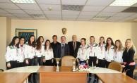 Başkan Şirin, Manisa şampiyonlarını ağırladı