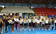 Manisa'da Jimnastik Festivali düzenlendi