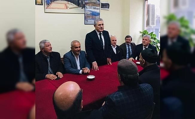 Manisa'daki Bitlisliler, eski Devlet Bakanı Gaydalı'yı ağırladı