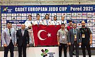 Manisa BBSK'lı judocular milli formayla Avrupa Kupası'nda göz doldurdu
