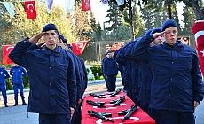 Manisa'da jandarma erler yemin etti